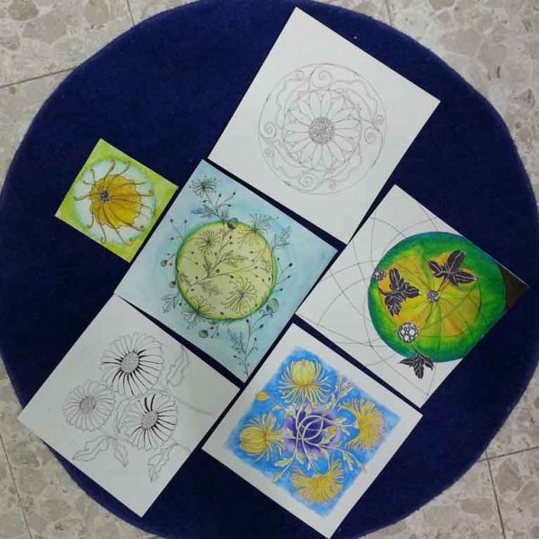 Mandala-course-maagalot-STUDENTS-WORK-FLOWERS